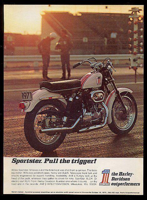 1971 Sportster Advert