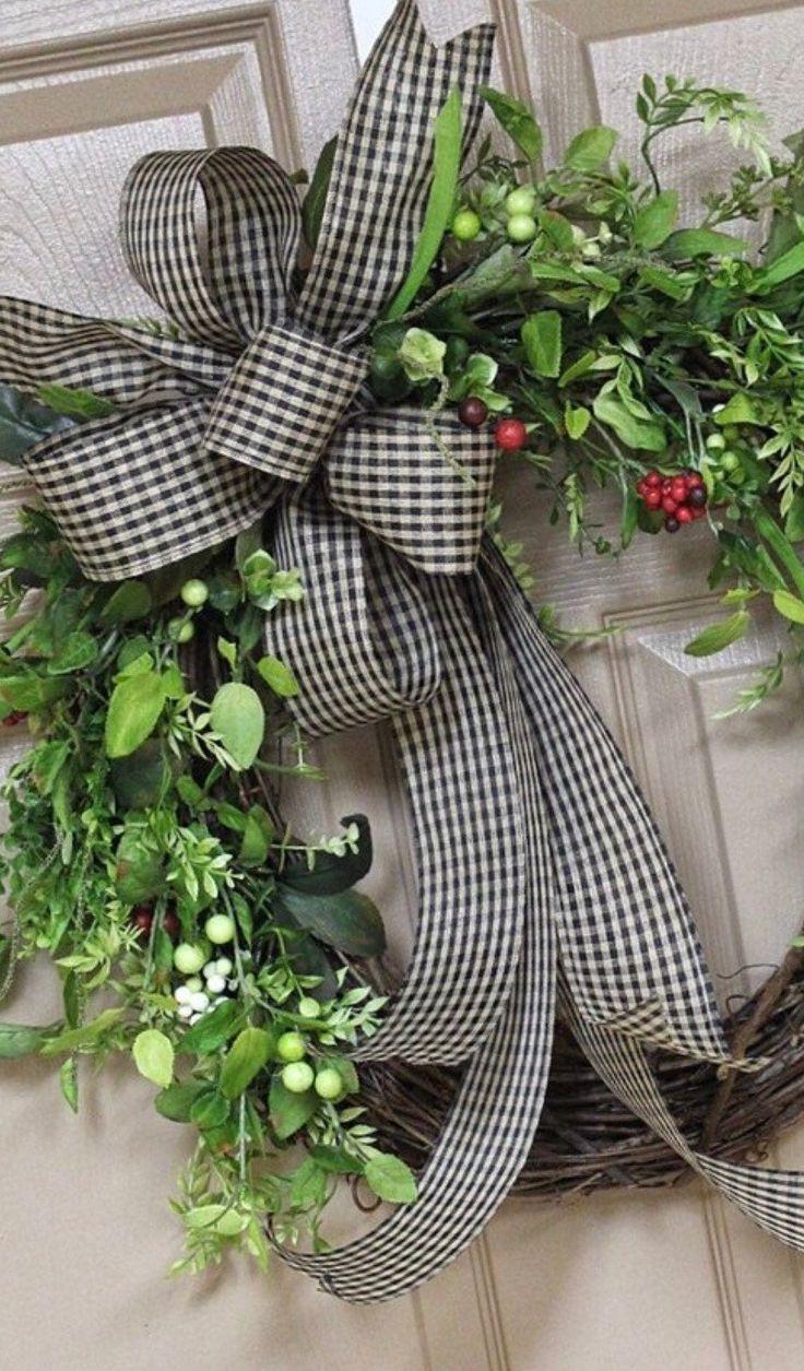 Wreath Bow, Rustic Decor, Rustic Wedding, Burlap Bow, Country Decor, for Wreaths, Home Decor, Farmho