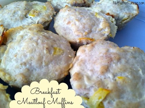 Breakfast Meatloaf Muffins #Whole30 #Paleo