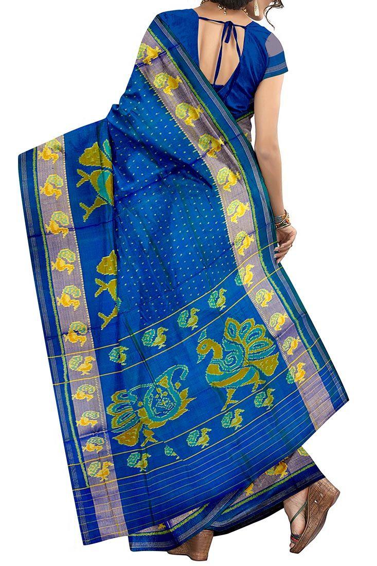 "Blue And Pink Fancy Flower Designer Patola Saree  For Details Cal Or Whatsapp On 09510111976  Our Stores ""Sindhoi Patola Art"" 111-Rajeswari Complex, Opp.Kalyan jewellers, Dr.Yagnik Road, Rajkot-360001 Ph.+91 9426942530   ""Sindhoi Patola Art"" 30-A Galaxy mall, S M road Opp. Jhansi Ki Rani Brts, satellite Ahmedabad-380015 Ph.079-40097890  Website:- www.sindhoipatola.in"