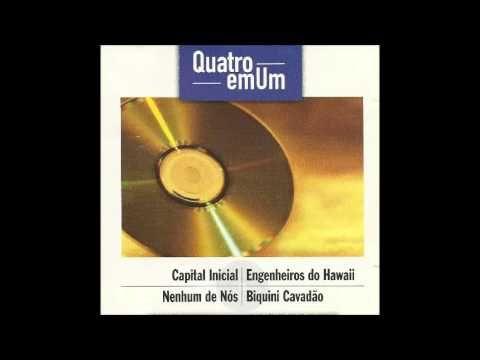 Cd Quatro em Um Volume:06 (Capital Inicial/Engenheiros do Hawaii/Nenhum ...