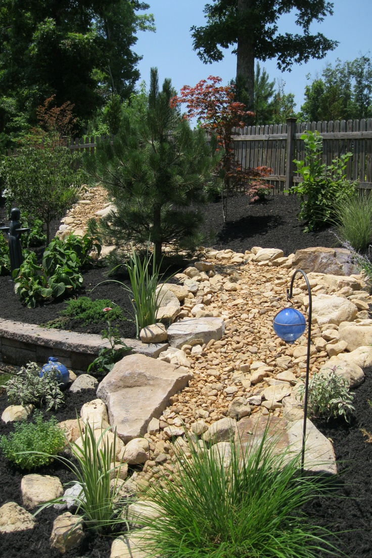 1000 images about dry river bed landscaping on pinterest gardens news articles and backyards. Black Bedroom Furniture Sets. Home Design Ideas