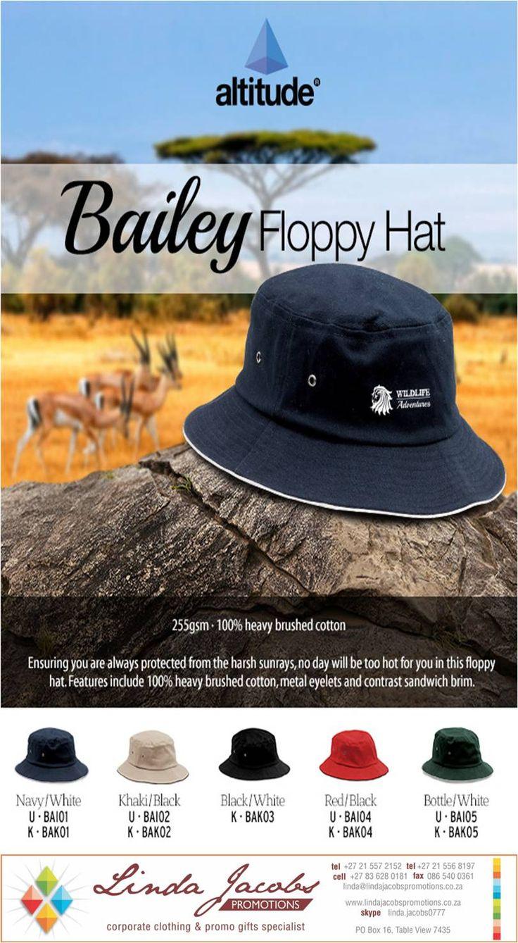 Smart floppy hat #BrandedHeadgear linda@lindajacobspromotions.co.za 083 6280181 021 5572152
