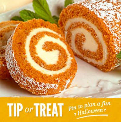 Libby's Pumpkin Roll Recipe from Land O'Lakes