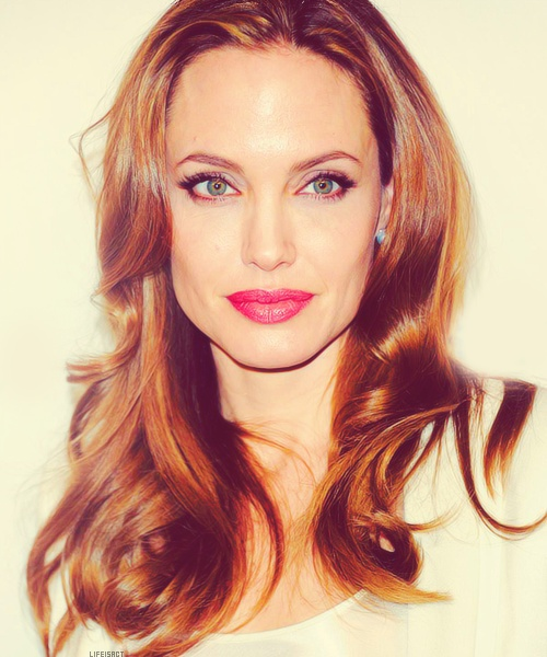 Angelina Jolie - gorgeous inside and out!