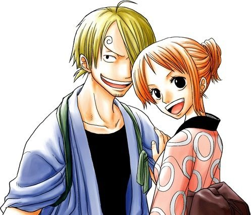 Sanji and Nami #one piece | One Piece | Pinterest | Anime ... | 497 x 426 jpeg 43kB