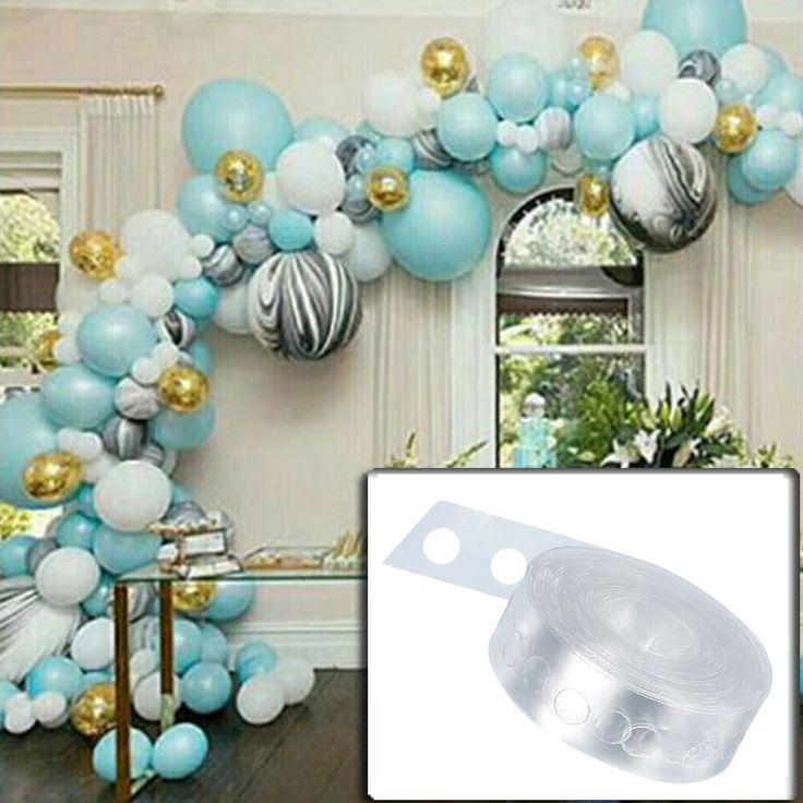 Balloon arch garland party decorating strip kit 165 feet