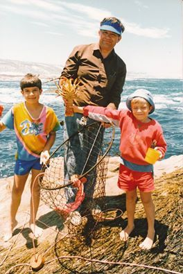 Bles with sons Francois & Eugene about 20 years ago
