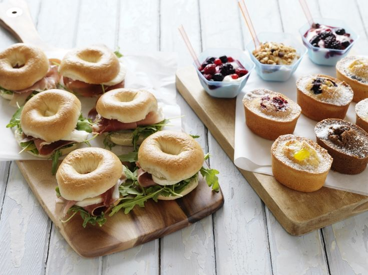Corporate breakfast catering ideas for the office.