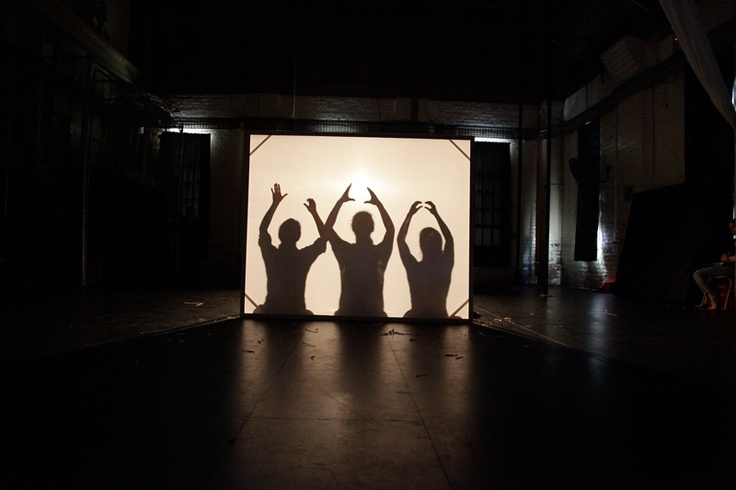 Shadow puppetry Auslan style