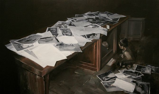 Korea painter Jisan Ahn
