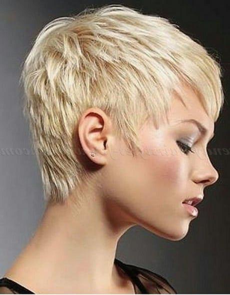 Verschiedene Kurz Haar Frisuren Inspiration Frisur Hair Cuts