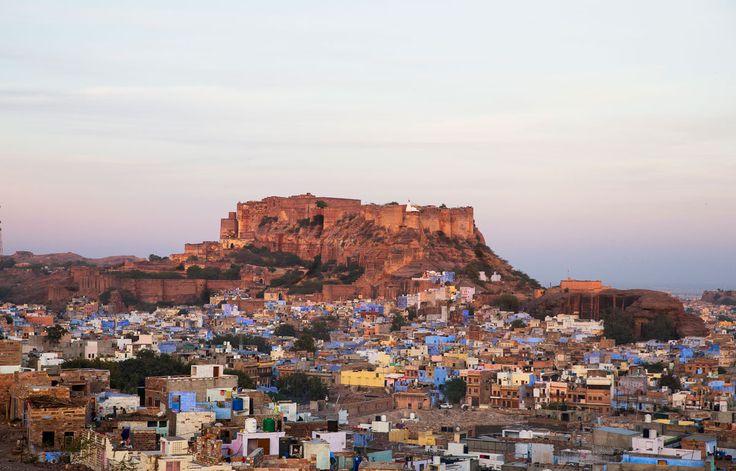 Vista general de Jodhpur - Rajastán, un viaje en el tiempo