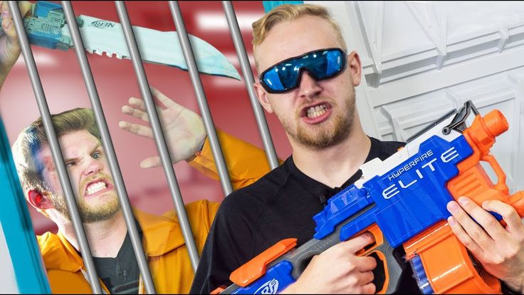 nice NERF Robot Prison Escape Challenge!  Check more at http://sherwoodparkweather.com/nerf-robot-prison-escape-challenge-ep-2/