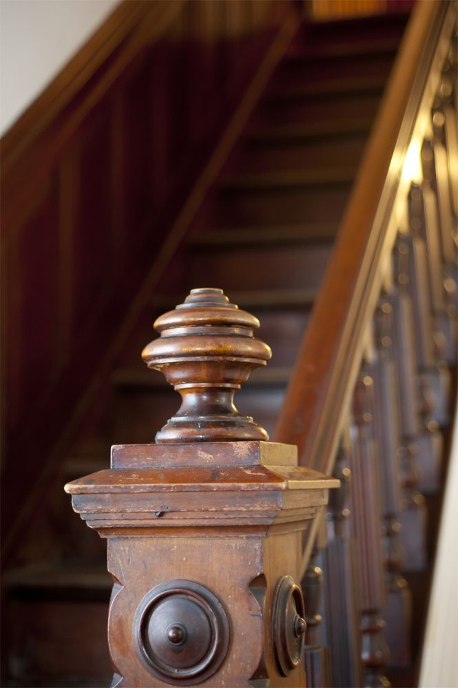 Original Architectural Details Can Be Recreated Or Renovated Using Carvings  From Wild Goose Carvings. Staircase