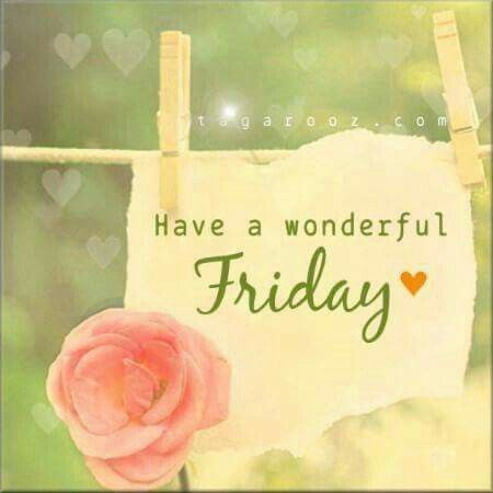 Enjoy the rest of your Friday! Happy friday quotes, Its