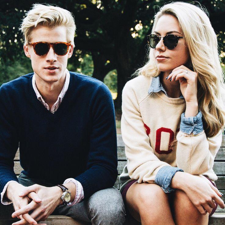 preppy staples // sweater, preppy, collegiate, sunglasses