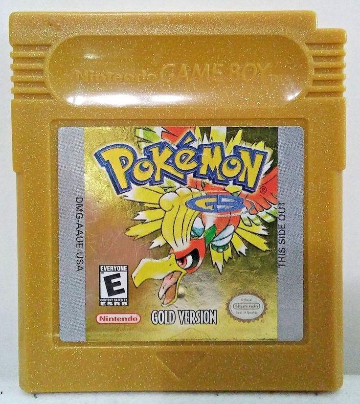 Pokemon: Gold Version (Nintendo Game Boy Color, 2000) SAVES, AUTHENTIC