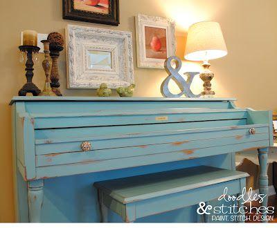 ASCP Painted Piano DIY