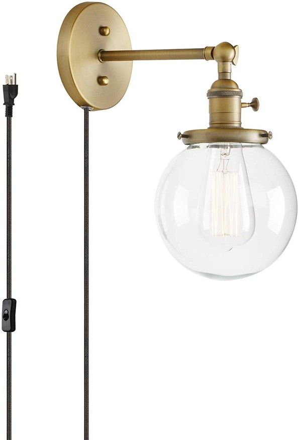 50 Beautiful Plug In Wall Sconces For Every Style Budget In 2021 Industrial Wall Lamp Plug In Wall Sconce Sconces What is a wall sconce