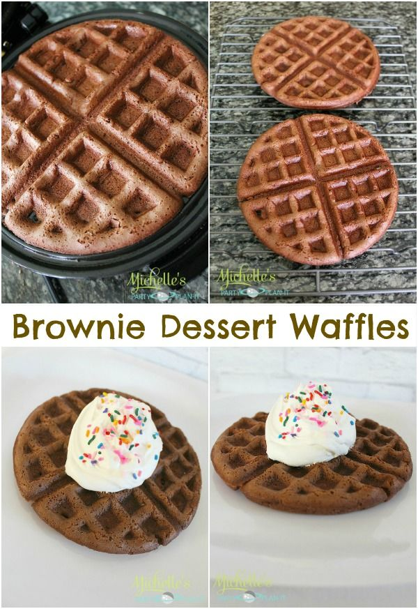 17 Best ideas about Brownie Waffles on Pinterest | Brownie mix waffles ...