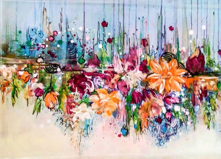 Soyut Resimler / #Abstract #Paintings by Hulya Yucel | #art #arte #sanat #gallery #artwork