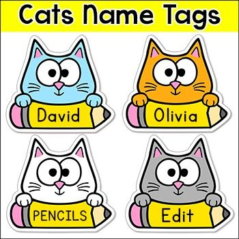 Best 25+ Cubby name tags ideas on Pinterest Locker name tags - name labels templates free