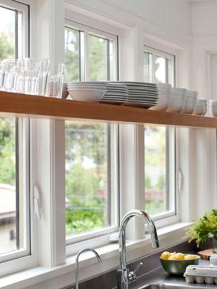 Verrassend mooi: 5x planken voor je keukenraam