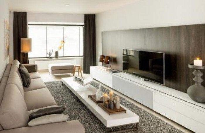 Beautiful Lange Smalle Woonkamer Inrichten Photos - House Design ...