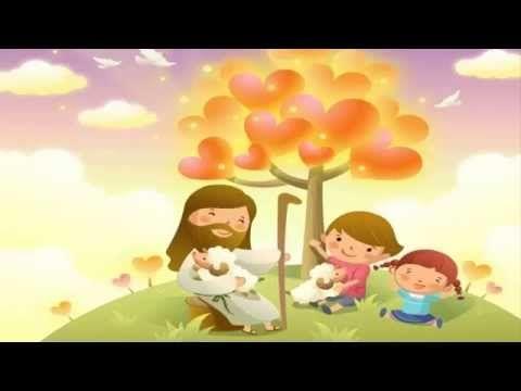 JESÚS Y LOS NIÑOS - HISTORIAS DE LA BIBLIA PARA NIÑOS - YouTube