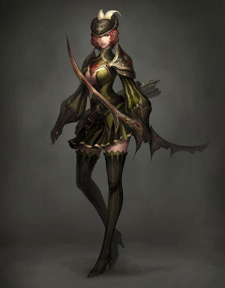 Archer Concept from Atlantica Online