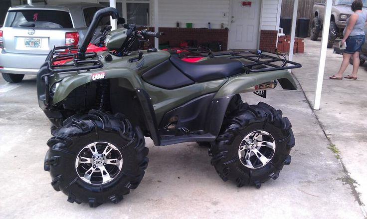 wheels and tires for honda 500 | 420 Rancher Tires And Wheels Honda Foreman Forums Rubicon Rincon ...