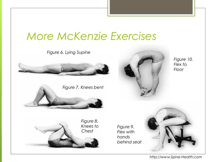 7 Best Mckenzie Method For Low Low Back Pain Images On