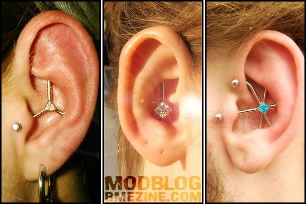 Unusual Industrial Piercings | BME: Tattoo, Piercing and Body Modification News