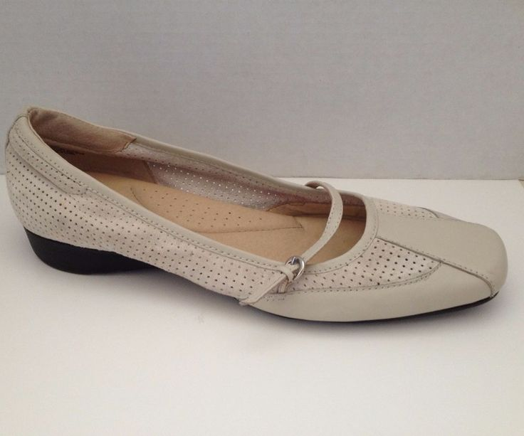 White Mountain Shoes Womens Size 10 M Allure Beige Loafer Mary Jane 10M #WhiteMountain #MaryJanes #WeartoWork