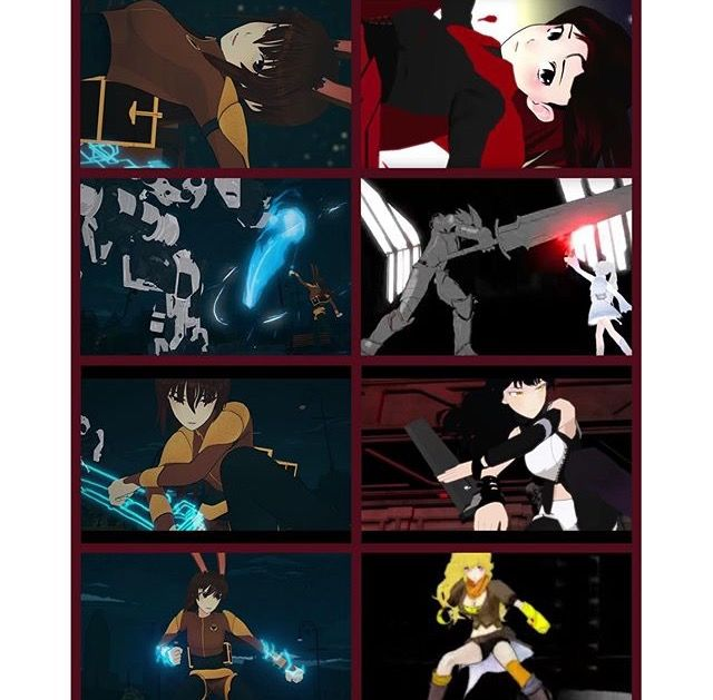 RWBY velvets fighting style, a long wait for an awesome answer.