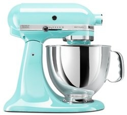 tiffany blue mixer, of course