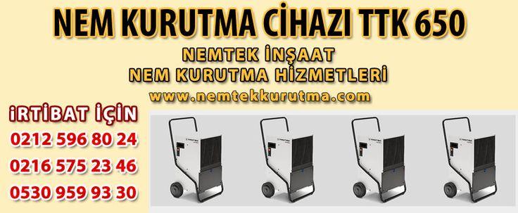 Nem Kurutma Cihazı TTK 650   NEMTEK NEM KURUTMA 530 959 9330 http://www.nemtekkurutma.com/pagedetails/56/nem-kurutma-cihazi-ttk-650/