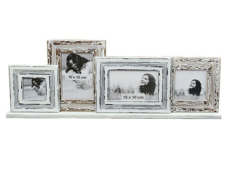 Ramă foto din MDF model Wavy pentru 4 fotografii de înălţime totală 23 cm, reprezintă o excelentă alegere din diversificata nostră gamă de decoraţiuni interioare.
