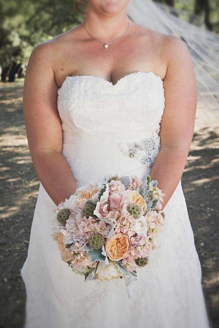Blush Rustic & Vintage Wedding Flowers melissa fuller photography