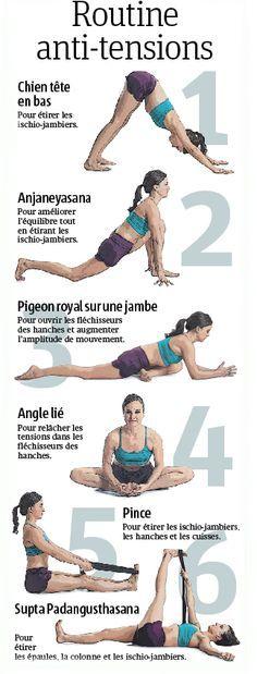 Ces exercices anti-tensions permettent d'étirer les muscles, allonger la foulée et augmenter l'amplitude de mouvement lors de la course à pied.