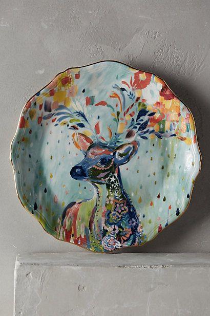 Mooreland Dessert Plate #anthropologie