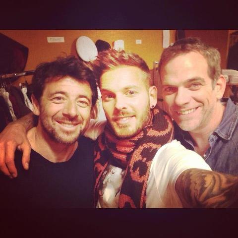 Patrick Bruel, M.Pokora et Garou : celui du milieu le plus parfait !!