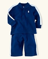 every man--even little ones--needs a polo jogging suit...thanks macys!