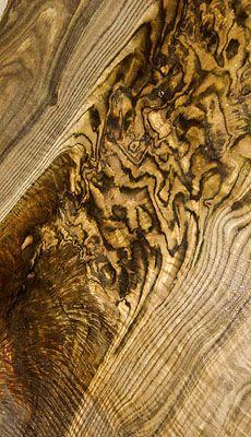 """animal printed wood!"" - Bastogne Walnut"