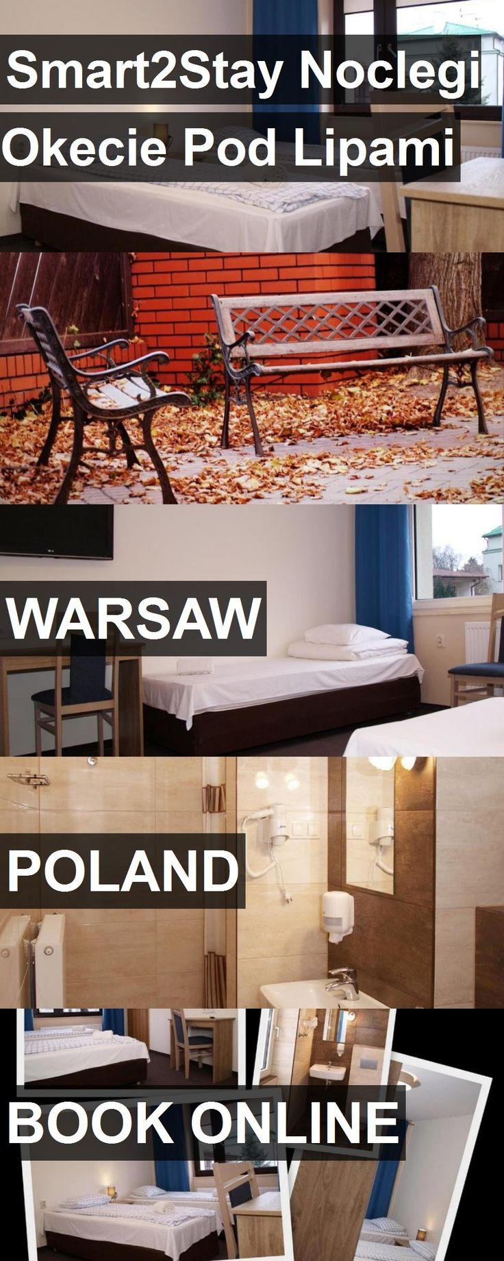 Hotel Smart2Stay Noclegi Okecie Pod Lipami in Warsaw, Poland. For more information, photos, reviews and best prices please follow the link. #Poland #Warsaw #Smart2StayNoclegiOkeciePodLipami #hotel #travel #vacation