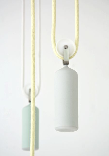 Studio WM . porcelain lamp