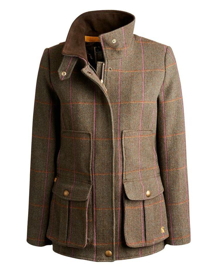 Joules Ladies' Tweed Fieldcoat – Hardy Tweed Q_FIELDCOAT