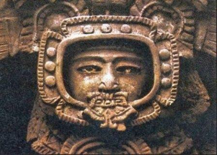 Sculptură antică - Tikal, Guatemala