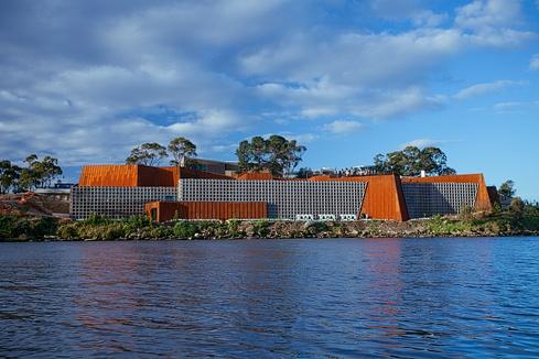 MONA (Museum of Old and New Art) Berriedale, Tasmania